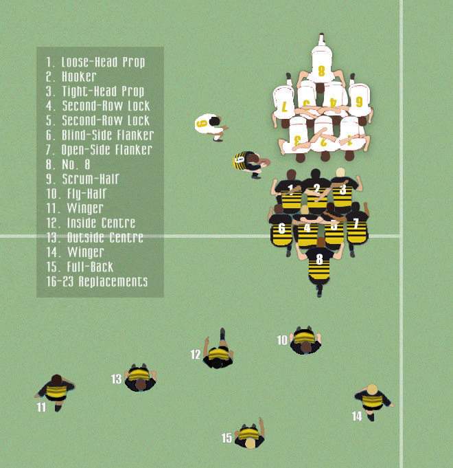 Rugby Positions The Wasps Outsider